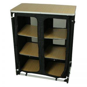 10T camBOX Multi Armoire de camping 6 casiers Noir de la marque 10T image 0 produit