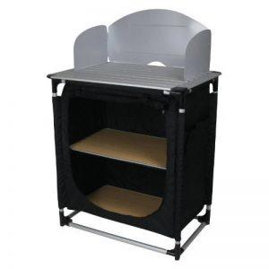 10T camKITCHEN Meuble cuisine camping Noir 75 x 53 x 117 cm de la marque 10T image 0 produit