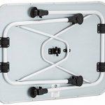 10T Flaprack Single Table de camping Blanc/Argent 80 x 60 x 55/75 cm de la marque 10T image 3 produit