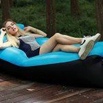 210T Portable étanche Polyester Air Sofa gonflable Lounger, Air Canapé, sofa gonflable, Air lit plage chaise longue pour voyageurs, Camping, Parc, Jardin de la marque Lufey image 1 produit