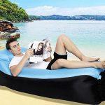 210T Portable étanche Polyester Air Sofa gonflable Lounger, Air Canapé, sofa gonflable, Air lit plage chaise longue pour voyageurs, Camping, Parc, Jardin de la marque Lufey image 2 produit