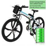 aceshin Vélo Homme électrique pliable 26 Vélo 250W 36V Grande Capacité 200KG Phare Avant VTT Montagne Adulte Pliable de la marque aceshin image 1 produit