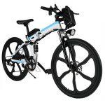 aceshin Vélo Homme électrique pliable 26 Vélo 250W 36V Grande Capacité 200KG Phare Avant VTT Montagne Adulte Pliable de la marque aceshin image 2 produit