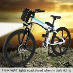 aceshin Vélo Homme électrique pliable 26 Vélo 250W 36V Grande Capacité 200KG Phare Avant VTT Montagne Adulte Pliable de la marque aceshin image 4 produit