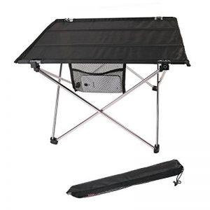 Aidoxi Table de Camping, Ultra-léger Table Pliable Compact au Rangement, Assemblage Rapide et Facile, Alliage D'aluminium De Haute Qualité (Silver) de la marque Aidoxi image 0 produit
