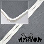 AMANKA Table Pliante 120x60x70cm meuble de camping pique-nique portable stable châssis en alu plateau en MDF Anthracite de la marque AMANKA image 3 produit