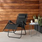 AmazonBasics Chaise de camping pliable zéro gravité Noir de la marque AmazonBasics image 6 produit