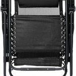 AmazonBasics Chaise de camping pliable zéro gravité Noir de la marque AmazonBasics image 3 produit