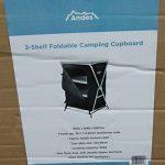 Andes - Meuble de rangement de camping - pour tente - 3 étagères/pliable de la marque Andes image 2 produit