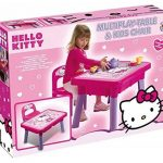 Androni 8901-00HK–Table multi-jeux avec chaise Hello Kitty de la marque Androni image 1 produit