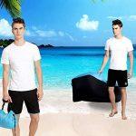 AVNTEN 210T Portable Air Sofa,Hamac Gonflable avec oreiller intégré,étanche Polyester chaise longue gonflable,pouf gonflable exterieur pour voyageurs,piscine,Camping,parc,plage,jardin de la marque Amazla image 5 produit