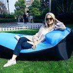 AVNTEN 210T Portable Air Sofa,Hamac Gonflable avec oreiller intégré,étanche Polyester chaise longue gonflable,pouf gonflable exterieur pour voyageurs,piscine,Camping,parc,plage,jardin de la marque Amazla image 3 produit