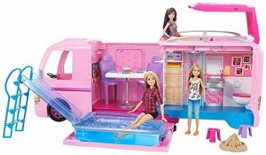 Barbie FBR34 - Dream Camper - Camping Car transformable de la marque Barbie image 0 produit
