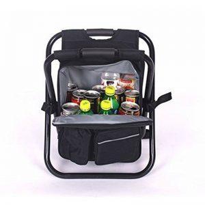 Basong Chaise Pliante & Sac à Dos pour Camping/Pêche/Pique-Nique/Plage/Peindre en Extérieur Oxford Etanche de la marque Basong image 0 produit