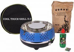 BBQ Barbecue de table Cool Touch Barbecue 2.0Rouge Barbecue au charbon de bois Camping Extérieur Bleu de la marque Sell-tex image 0 produit