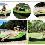 BeIM Hamac Gonflable Portatif Pliable avec Un Petit Sac Air Sofa Imperméable de la marque BeIM image 4 produit