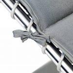 Bo-Camp Housse chaise relax - Universel - Rembourré - Gris de la marque Bo-Camp image 1 produit