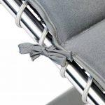 Bo-Camp Housse chaise relax - Universel - Rembourré - Gris de la marque Bo-Camp image 2 produit