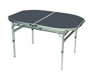 Bo-Camp Table - Ovale - Modèle coffre - 120x80 cm de la marque Bo-Camp image 0 produit
