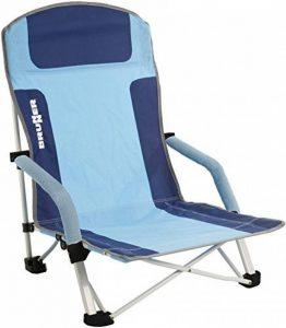 Brunner Bula Chaise de plage (bleu/azur) de la marque Brunner image 0 produit