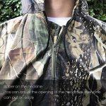 Camo Rain Jacket, Vaxiuja Rain Poncho imperméable Multifonctions Outdoor Militaire Jungle Camouflage Tactique Portable Urgence de la marque Vaxiuja image 1 produit