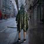 Camo Rain Jacket, Vaxiuja Rain Poncho imperméable Multifonctions Outdoor Militaire Jungle Camouflage Tactique Portable Urgence de la marque Vaxiuja image 3 produit