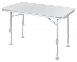 Campart Table de camping Travel TA-0859– 115 x 70 cm – Résistante aux rayures et à la chaleur de la marque Campart image 0 produit