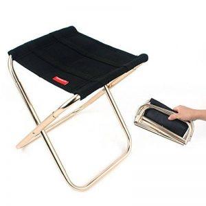 Camping Tabouret léger, Ultra léger en alliage d'aluminium Portable Chaise pliante, extérieur Plage randonnée Pêche Voyage randonnée Jardin BBQ Assise de la marque Aolvo image 0 produit