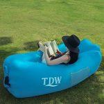 Canapé Gonflable,TDW Canapé Air,Longue Gonflable,Chaise Gonflable, Portable Lazy Lounger pour Voyage, camping, plage, Park, Backyard, arrière-cour de la marque TDW image 3 produit