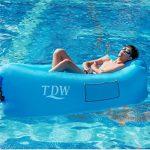 Canapé Gonflable,TDW Canapé Air,Longue Gonflable,Chaise Gonflable, Portable Lazy Lounger pour Voyage, camping, plage, Park, Backyard, arrière-cour de la marque TDW image 4 produit