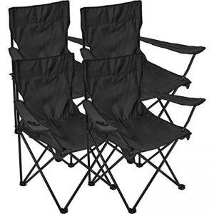 Chaise de camping 4 x chaise pliante d'extérieur de la marque Black Snake image 0 produit