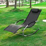 chaise de camping avec repose pied TOP 4 image 1 produit