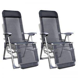 chaise de camping avec repose pied TOP 5 image 0 produit