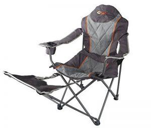 chaise de camping avec repose pied TOP 6 image 0 produit