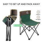 Chaise de Camping Pliable Terra Hiker, Chaise de Pêche Plage avec Sacoche Ventilée, Sac de Transport Inclus de la marque Terra Hiker image 1 produit