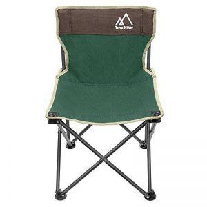 Chaise de Camping Pliable Terra Hiker, Chaise de Pêche Plage avec Sacoche Ventilée, Sac de Transport Inclus de la marque Terra Hiker image 0 produit