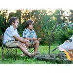 Chaise de Camping Pliable Terra Hiker, Chaise de Pêche Plage avec Sacoche Ventilée, Sac de Transport Inclus de la marque Terra Hiker image 6 produit