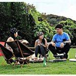 Chaise de Camping Pliante, Sportneer® Portable Léger Pliable Camping Chaise pour Backpacking/ Randonnée/ Pique-nique/ Pêche / Plage / Jardin (Charge de Poids 158kg) de la marque Sportneer image 3 produit
