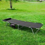 Chaise de jardin inclinable et pliante SoBuy Textoline - Camping de la marque SoBuy image 3 produit