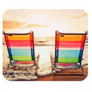 Chaise de plage rectangulaire, Tapis de souris en caoutchouc antidérapant, Pad de la marque Sugee image 0 produit