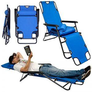 chaise longue de camping pliable TOP 6 image 0 produit