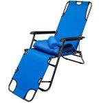 chaise longue de camping pliable TOP 6 image 1 produit
