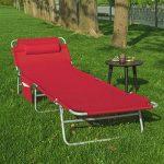 chaise longue pliante camping TOP 14 image 3 produit
