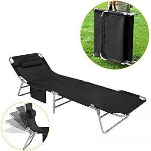 chaise longue pliante camping TOP 4 image 0 produit