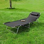 chaise longue pliante camping TOP 4 image 2 produit