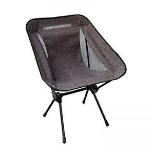 Chaise pliante en plein air Anna Chaise d'escalade chaise de loisirs ultra-léger tabouret de pêche portatif fauteuil multifonction camping chaise de plage (Couleur : Marron) de la marque Chaise pliante en plein air image 0 produit