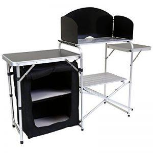 Charles Bentley - Table placard de rangement pliable pour camping - L 146 x l 46 x H 80 cm de la marque Charles Bentley image 0 produit