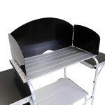 Charles Bentley - Table placard de rangement pliable pour camping - L 146 x l 46 x H 80 cm de la marque Charles Bentley image 3 produit