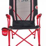 Coleman Bungee Chair Chaise de camping Gris/Rouge, L de la marque Coleman image 1 produit