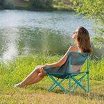 Coleman Chaise pliable - Kick-Back Breeze - Compacte - Bleu de la marque Coleman image 3 produit